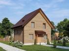 Проект одноэтажного жилого дома с мансардой