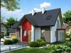 Проект просторного жилого дома